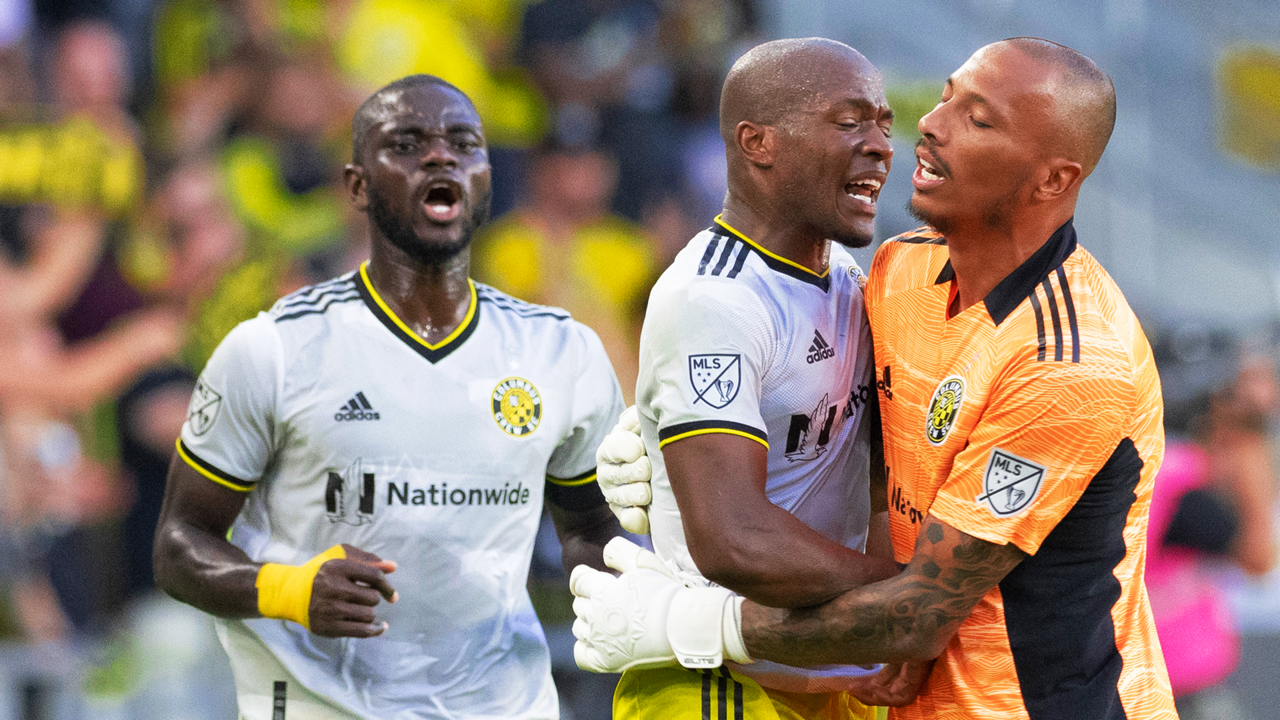 Columbus 2-1 NYCFC: Crew move into playoff places after first win at Lower.com Field