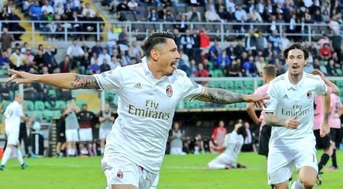Serie A - Il Milan continua a vincere: Suso e Lapadula firmano l'1-2 per i rossoneri