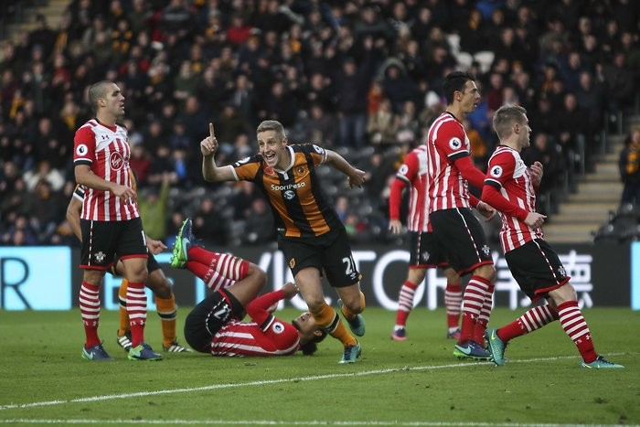 Hull City 2-1 Southampton: The Tigers claw back their hopes of Premier League survival