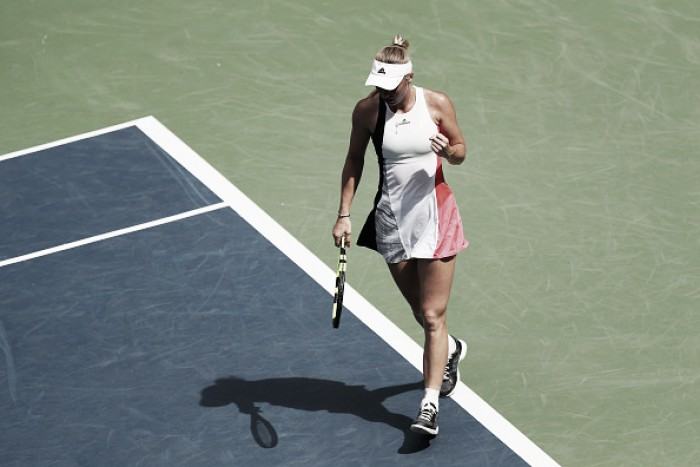 US Open 2016: Wozniacki notches shock win against Kuznetsova