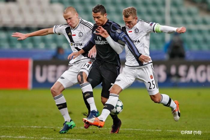Champions League - Risultato rocambolesco a Varsavia: 3-3 tra Legia e Real Madrid