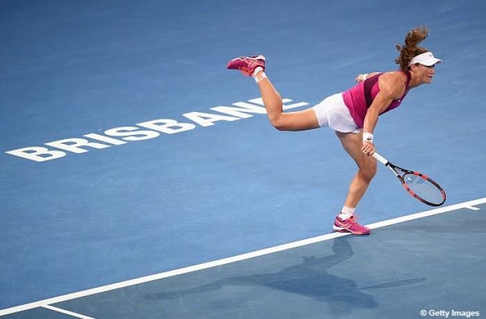 WTA Brisbane: nessun problema per la Suarez Navarro, Stosur al terzo