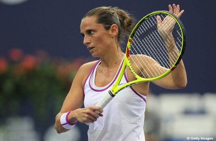 WTA Brisbane: sorriso Vinci, fuori Giorgi ed Errani
