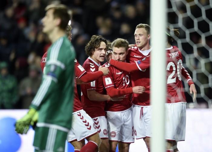Qualificazioni Russia 2018 - Eriksen trascina la Danimarca, 4-1 sul Kazakistan