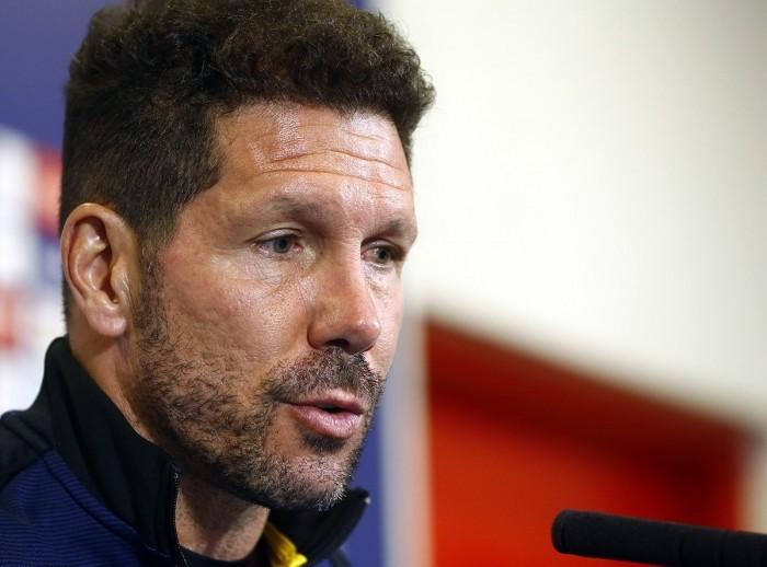 """Simeone: """"Históricamente, la Copa es una competición querida por el Atlético"""""""