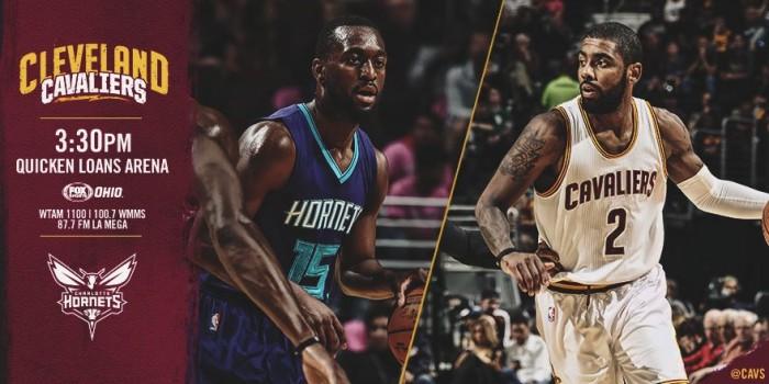 Score Cleveland Cavs 100-93 Charlotte Hornets in NBA Regular Season