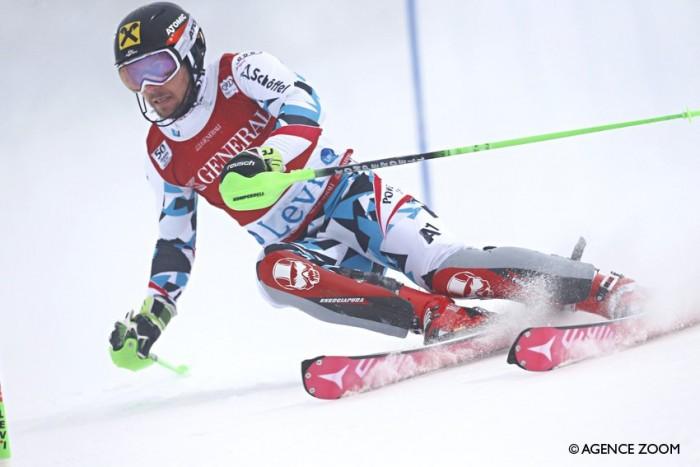 Slalom maschile, Levi: Hirscher vince per dispersione, un grande Moelgg chiude terzo