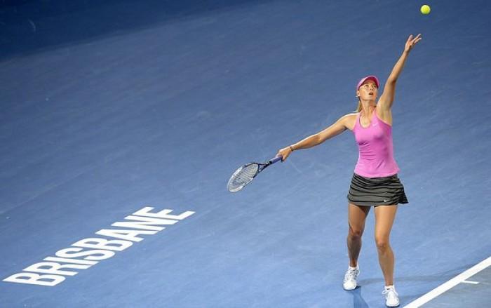 WTA Brisbane, il main draw: cammino non semplice per la Halep, Errani nella porzione con Sharapova