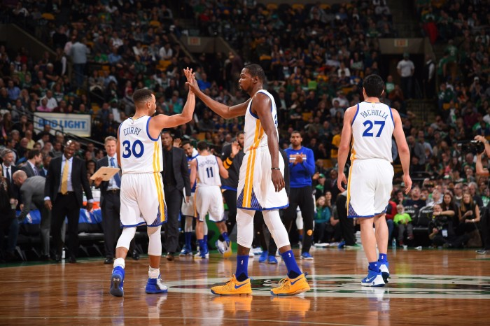 NBA, Golden State esaltante: Boston spazzata via (104-88)