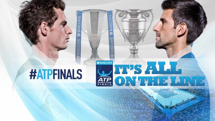 Risultato Murray - Djokovic diretta, LIVE ATP Finals 2016 - Murray in paradiso (2-0)