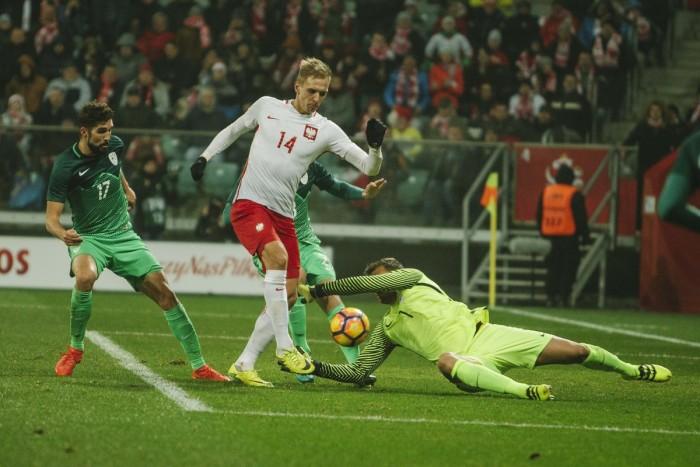 Teodorczyk salva la Polonia, con la Slovenia è 1-1