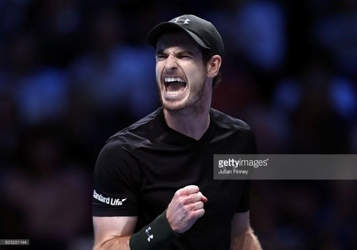 ATP Finals - Murray lunatico ma vincente, Cilic cede sul lungo