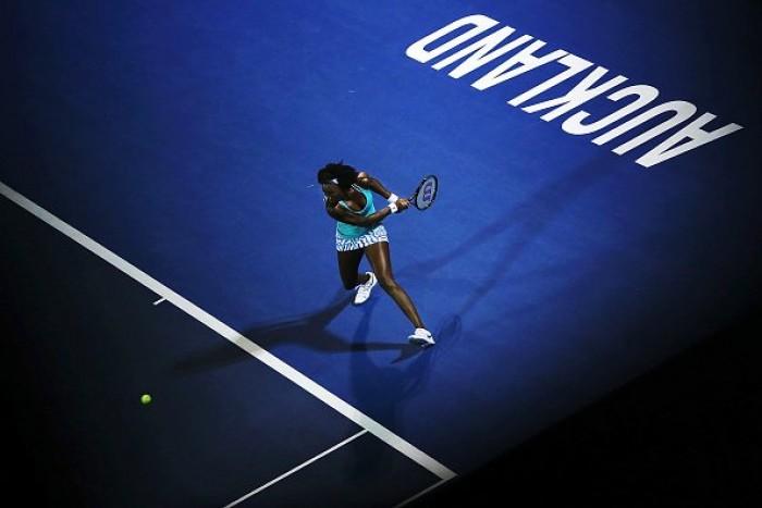 WTA Auckland, il main draw: al via Francesca Schiavone, guidano Venus e Ivanovic