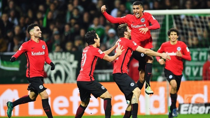 Werder Bremen 1-2 Eintracht Frankfurt: Barkok shocks hosts with stunning debut goal