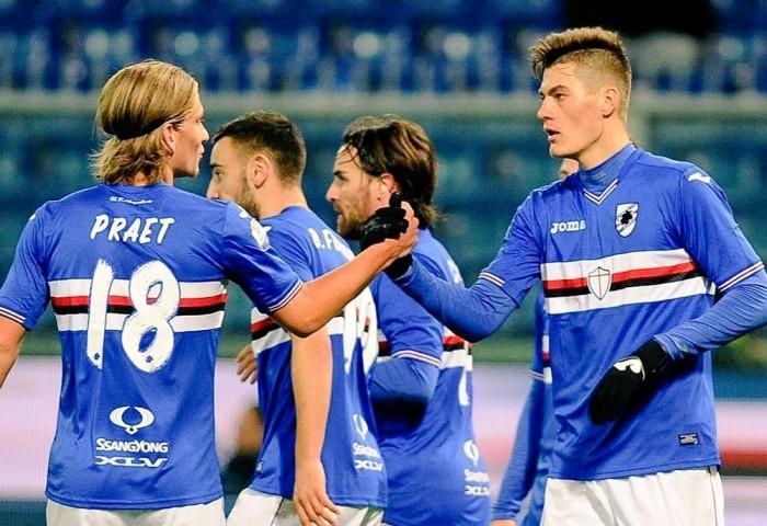 La Sampdoria doma il Torino: 2-0 al Ferraris