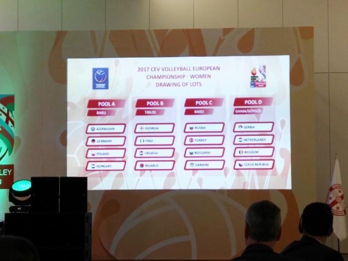 VolleyF, sorteggiati i gironi dei Campionati Europei 2017: Italia nella Pool B con Georgia, Croazia e Bielorussia. L'analisi