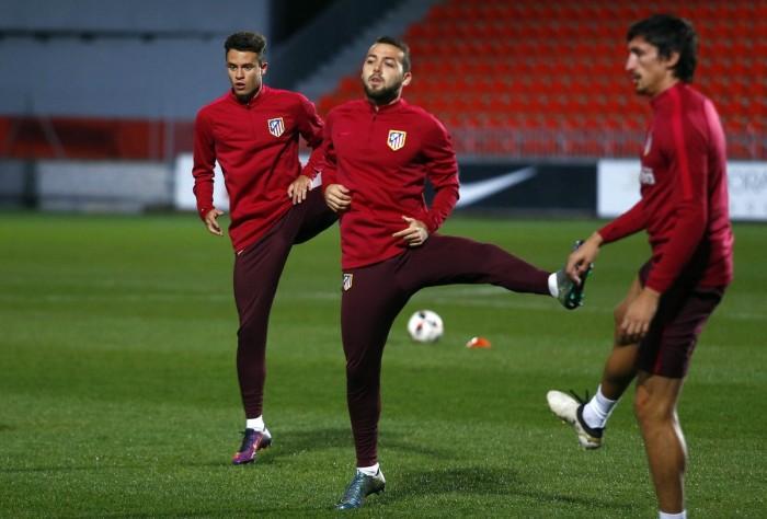 Simeone convoca a cinco jugadores del filial ante el Guijuelo