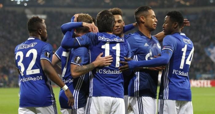 Europa League, il Nizza è fuori: 2-0 in casa dello Schalke, Konoplyanka ed Aogo i marcatori
