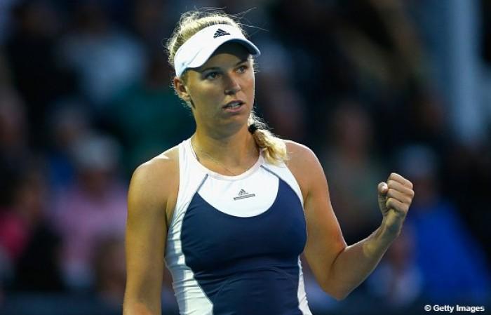 WTA Auckland, bene Wozniacki e Stephens