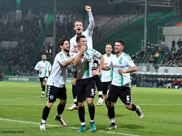 SpVgg Greuther Fürth 2-1 Arminia Bielefeld: Zlatko Tripic last-miunte winner gives Radoki first win