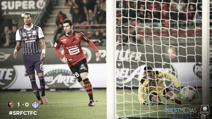 Rennes 1-0 Toulouse: Early goal continues unbeaten run