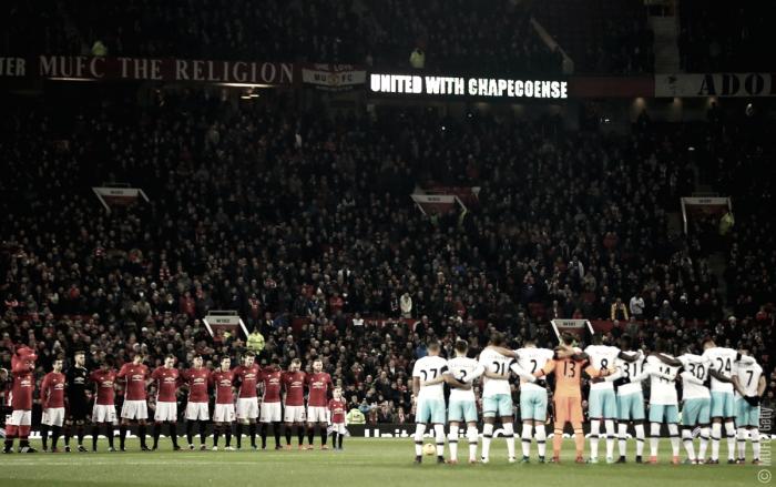 Clubes europeus prestam homenagens à Chapecoense
