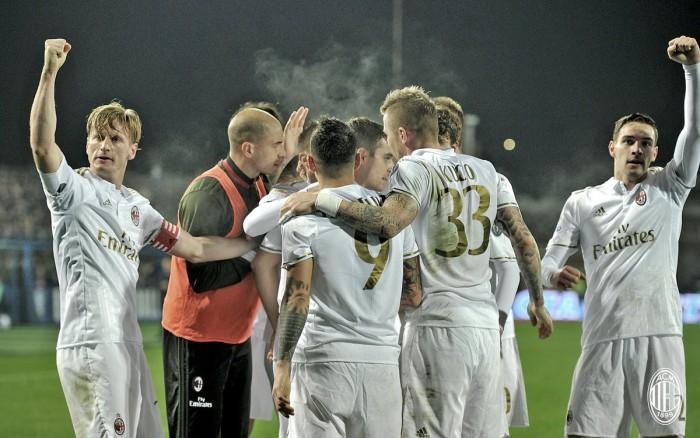 Serie A - Altro crollo dell'Empoli, il Milan dilaga (1-4)