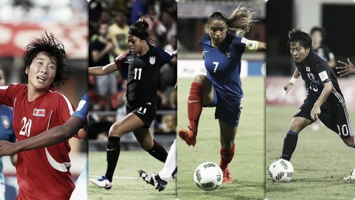 Previa de las Semifinales del Mundial Femenil Sub-20