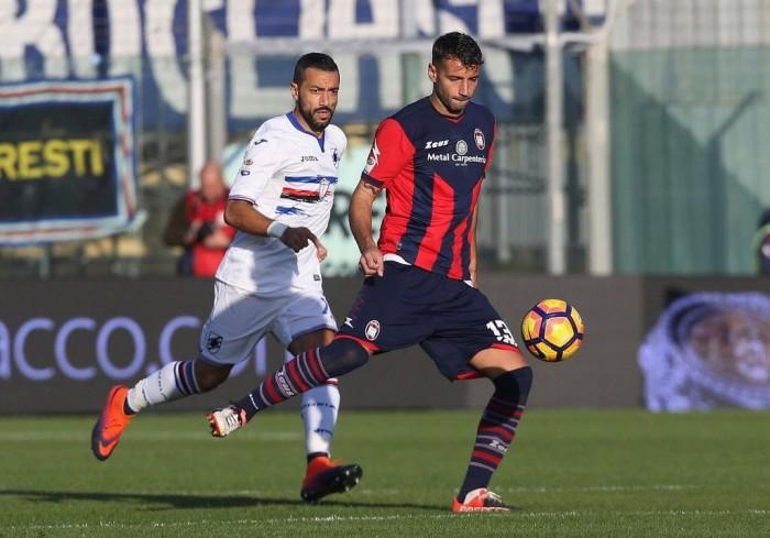 Crotone e Sampdoria si accontentano del pareggio: 1-1 all'Ezio Scida