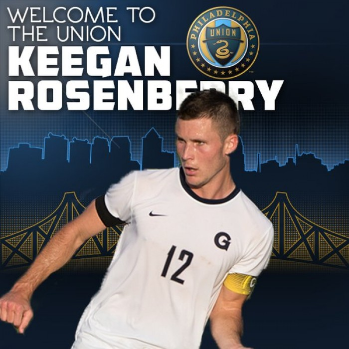 Philadelphia Union Select Georgetown University Defender Keegan Rosenberry with Third Overall Pick