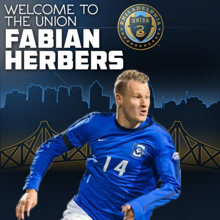 Philadelphia Union Select Creighton University Forward Fabian Herbers With Sixth Pick