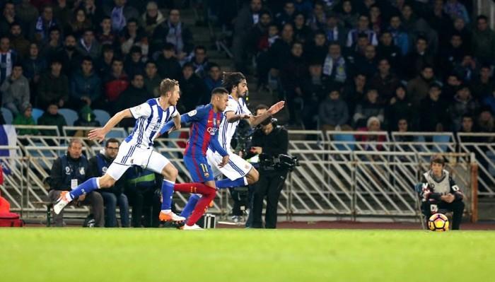 Barcellona deludente, la Real Sociedad ne approfitta a metà: 1-1 all'Anoeta