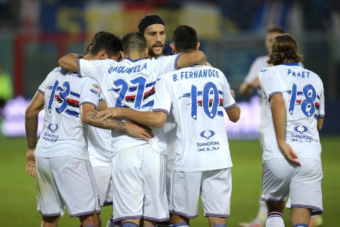 Fernandes risponde a Falcinelli, 1-1 tra Crotone e Sampdoria: le voci dei protagonisti