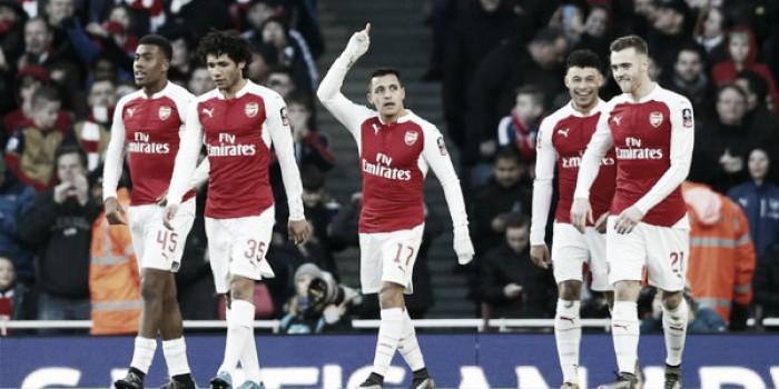 F.A. Cup, l'Arsenal fa il suo dovere: 2-1 al Burnley e ottavi conquistati