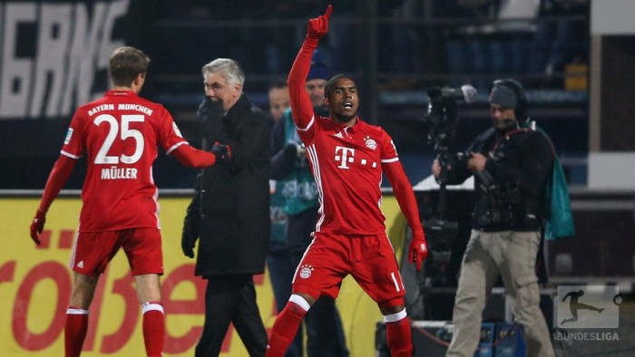 SV Darmstadt 98 0-1 Bayern Munich: Costa's stunner sends Die Roten back to the top of the table