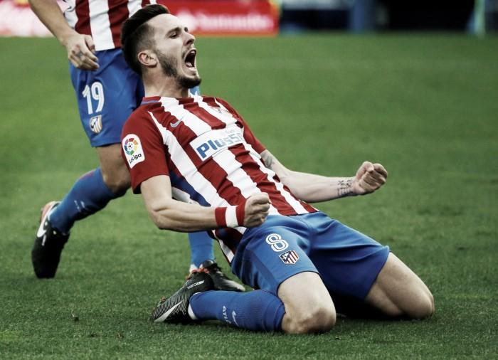 Basta Saul: l'Atletico di misura sul Las Palmas