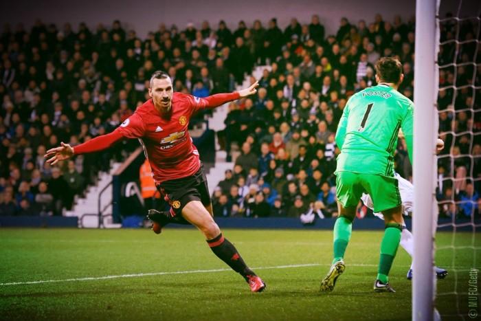 Premier League - Una doppietta di Ibra abbatte il WBA, vince lo United (0-2)