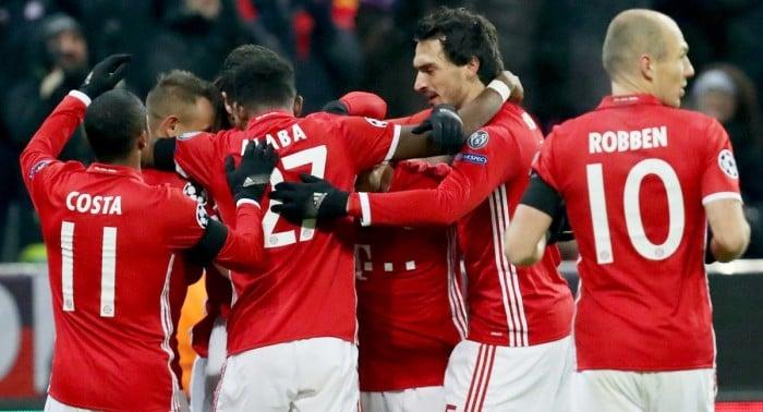 Champions League: un ottimo Bayern Monaco 'mata' l'Atletico grazie ad un gioiello di Lewandoski