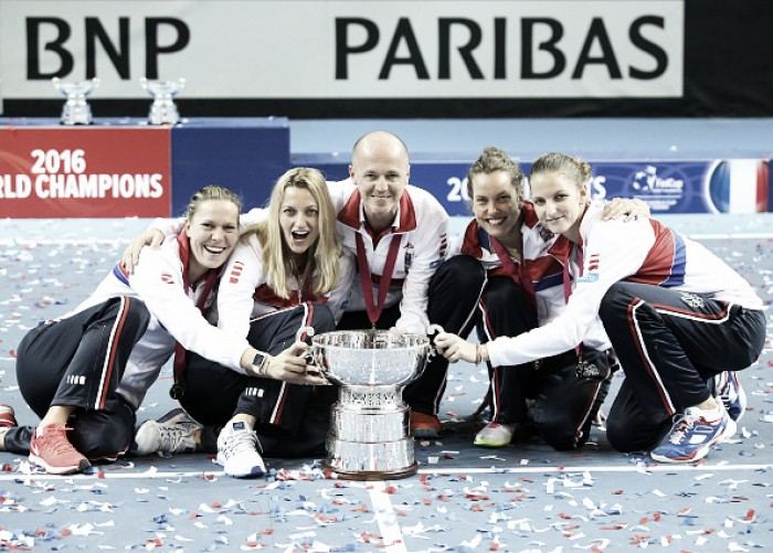 WTA Weekly Ledger: Czech Republic comes back from brink of defeat to score third successive Fed Cup crown