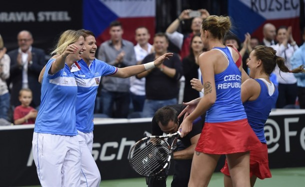 Fed Cup Final: Czech Republic Clinches Title With Doubles Win