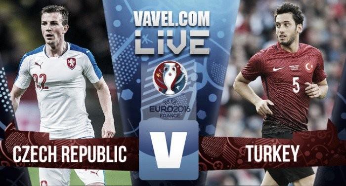 Risultato live Repubblica Ceca-Turchia (0-2), Yilmaz porta in vantaggio la Turchia. Raddoppio Ozan Tufan.Diretta Euro 2016