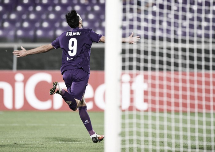 Kalinic mattatore: la Fiorentinasupera 2-1 il Sassuolo
