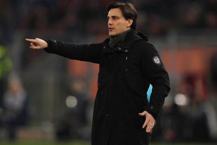 """Nainggolan castiga il Milan, Montella: """"Sconfitta immeritata, ma siamo sulla strada giusta"""""""