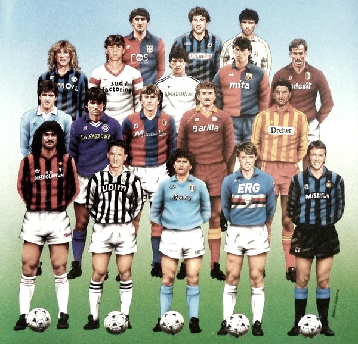 El mágico 'calcio' de los 80