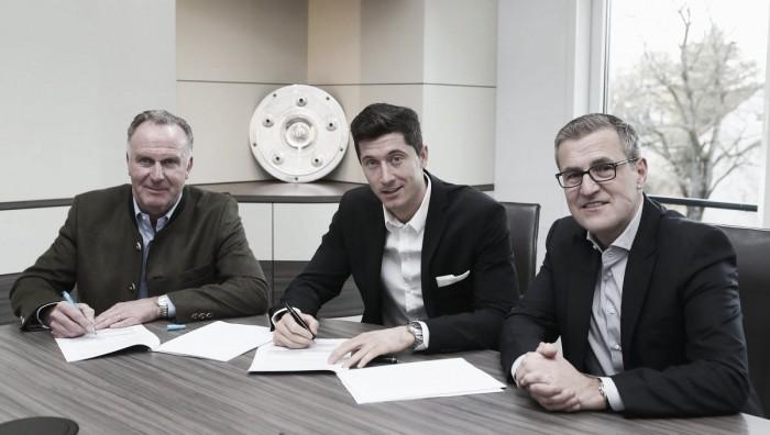 Bayern Monaco, Lewandowski prolunga fino al 2021