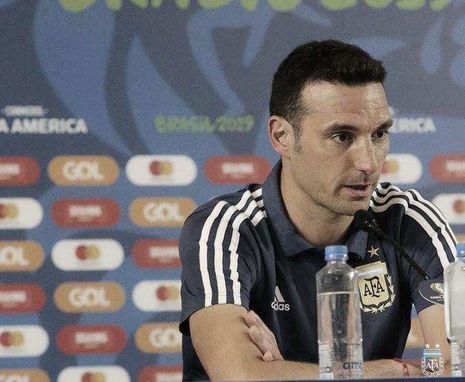 """Lionel Scaloni: """"Sabíamos que la Selección iba a ir creciendo a medida que pasara la Copa"""""""