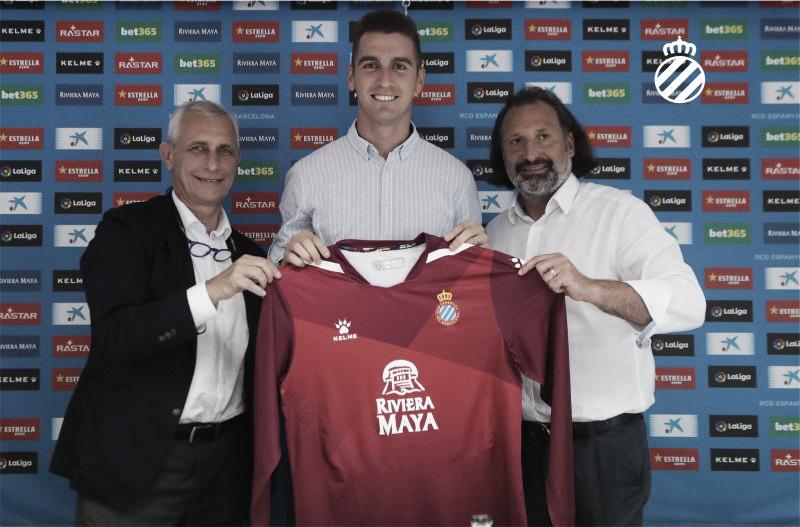 Andrés Prieto regresa al RCD Espanyol