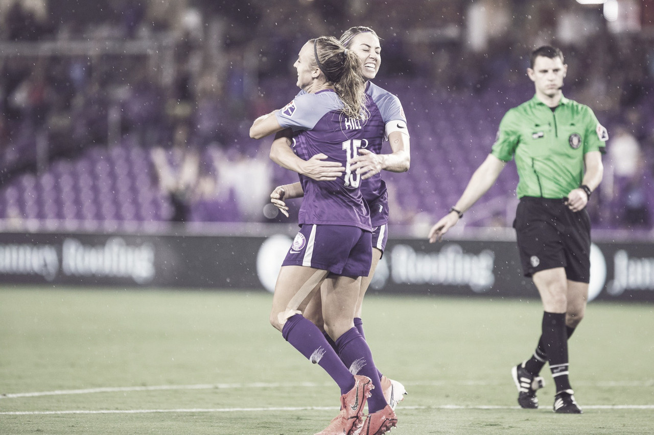 The Orlando Pride shock Washington Spirit in 4-3 victory