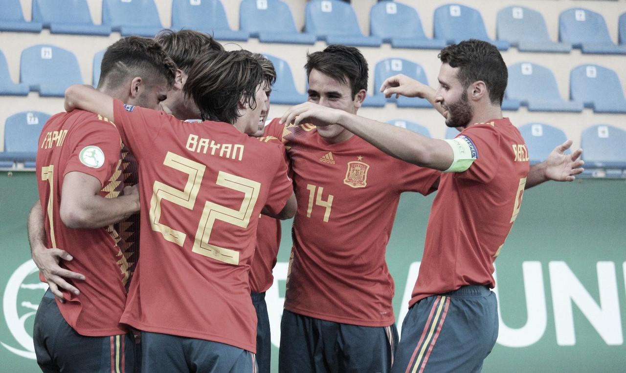 Las caras de la Selección Española para la Euro sub-19