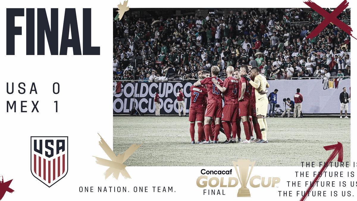 Análisis post: EEUU, subcampeón de la Copa Oro 2019